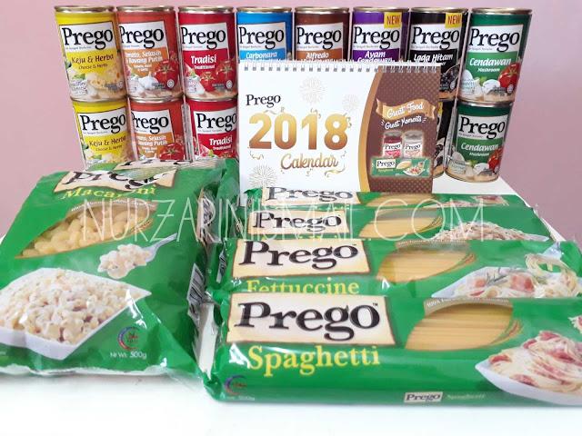Hadiah Daripada Prego Malaysia