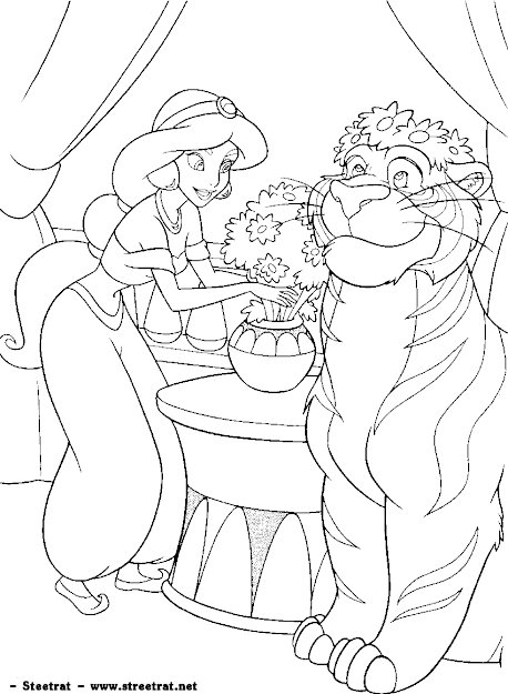Coloring Pages Disneyprincesscoloring