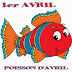 Le 1er. avril, Poisson d'avril!