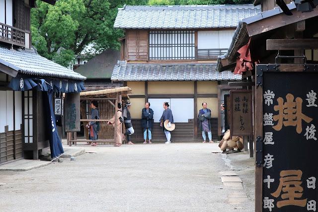 京都東映太秦映画村 時代劇 水戸黄門の撮影風景