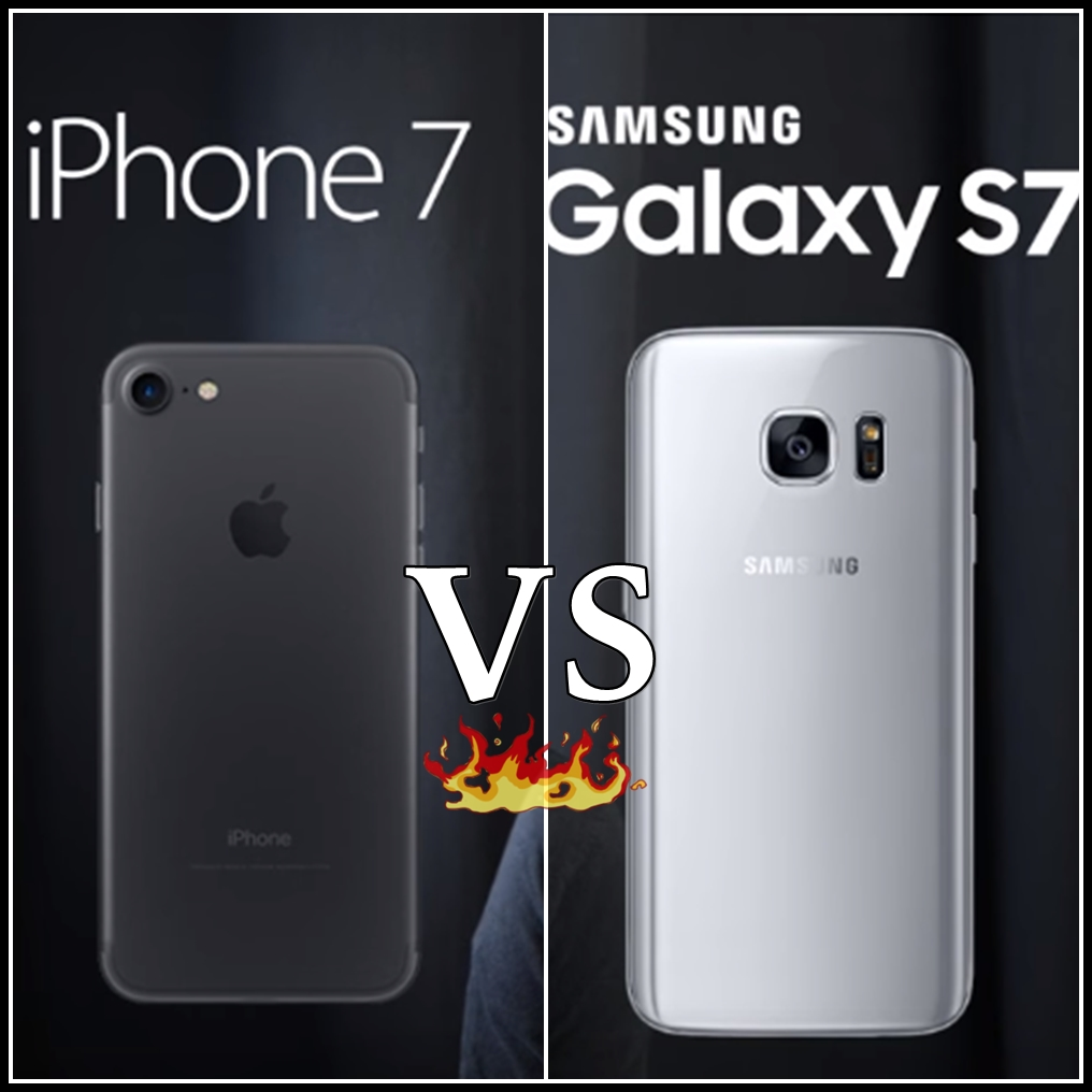 samsung galaxy vs iphone samsung galaxy s7 vs iphone 7 comparsion studyofcs 2922