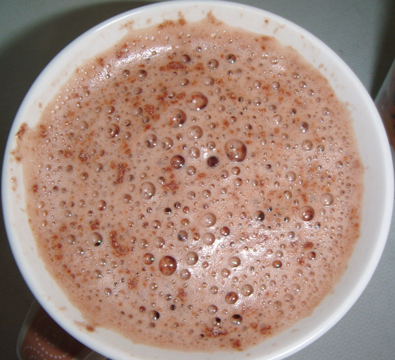 Foodstuff Finds Galaxy Silky Smooth Frothy Top Hot