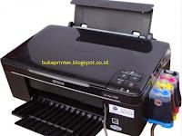 Cara Ampuh Atasi Printer Epson TX121/TX121x General Error dan Sercive Required