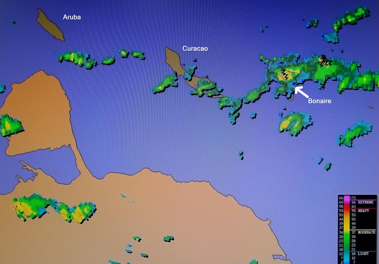 Brad's Bonaire Update: Rainy Rainy Day