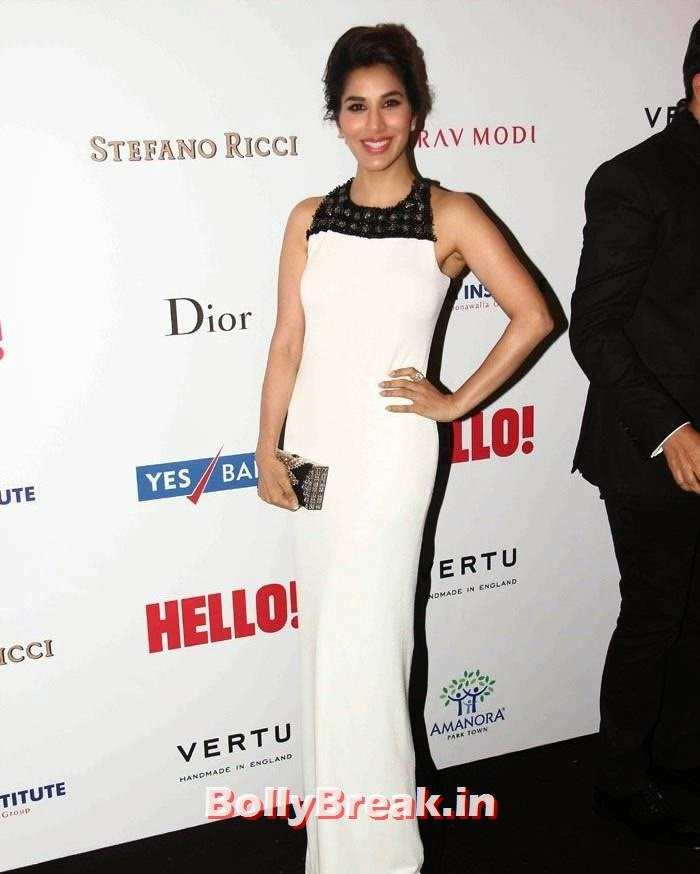 Sophie Choudry, Hello! Hall of Fame Awards 2014