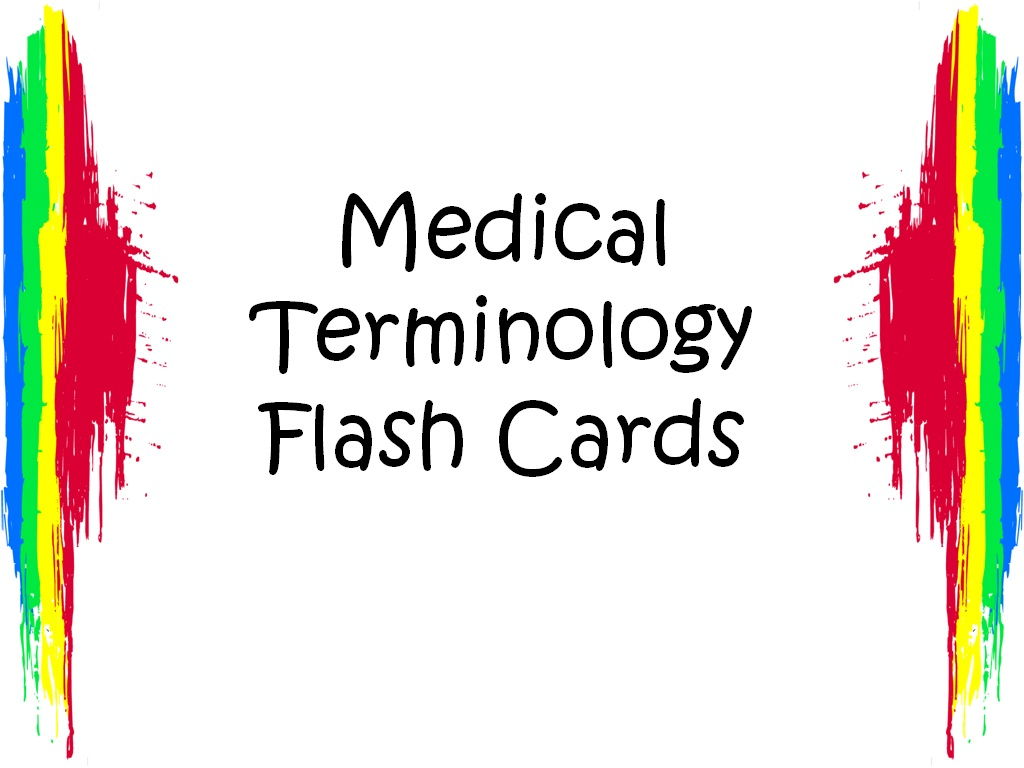 Student Survive 2 Thrive Free Medical Terminology Flash