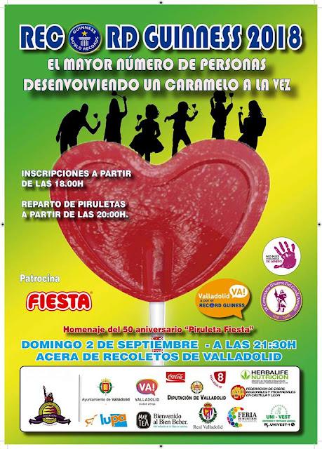 Record Guinness Ferias y Fiestas de Nuestra Señora la Virgen de San Lorenzo Valladolid 2018