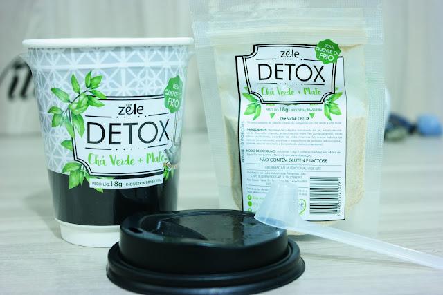 chá  detox, bebida da beleza, queima calórica, colágeno hidrolisado, vitamina c