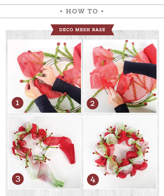 How to make a Christmas Wreath Easy Christmas Crafts
