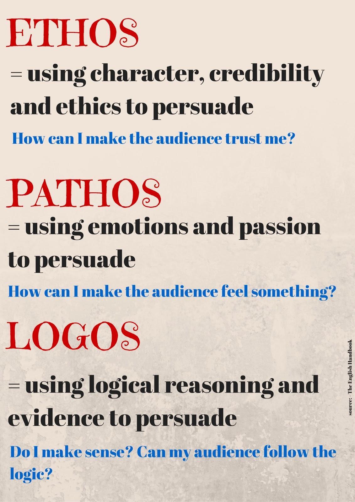 sbn ethos pathos logos essay