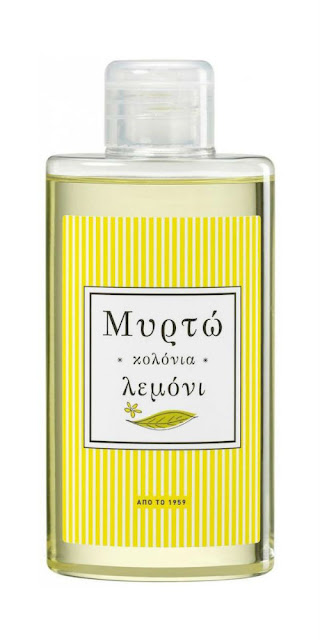 Myrto Greek lemon cologne