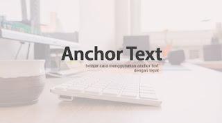 Cara membuat Kekuatan Anchor Text