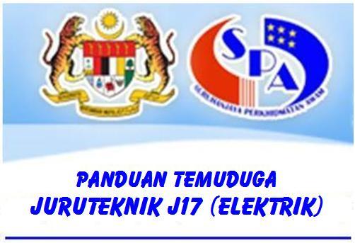 Panduan Temuduga Juruteknik J17 (Elektrik)