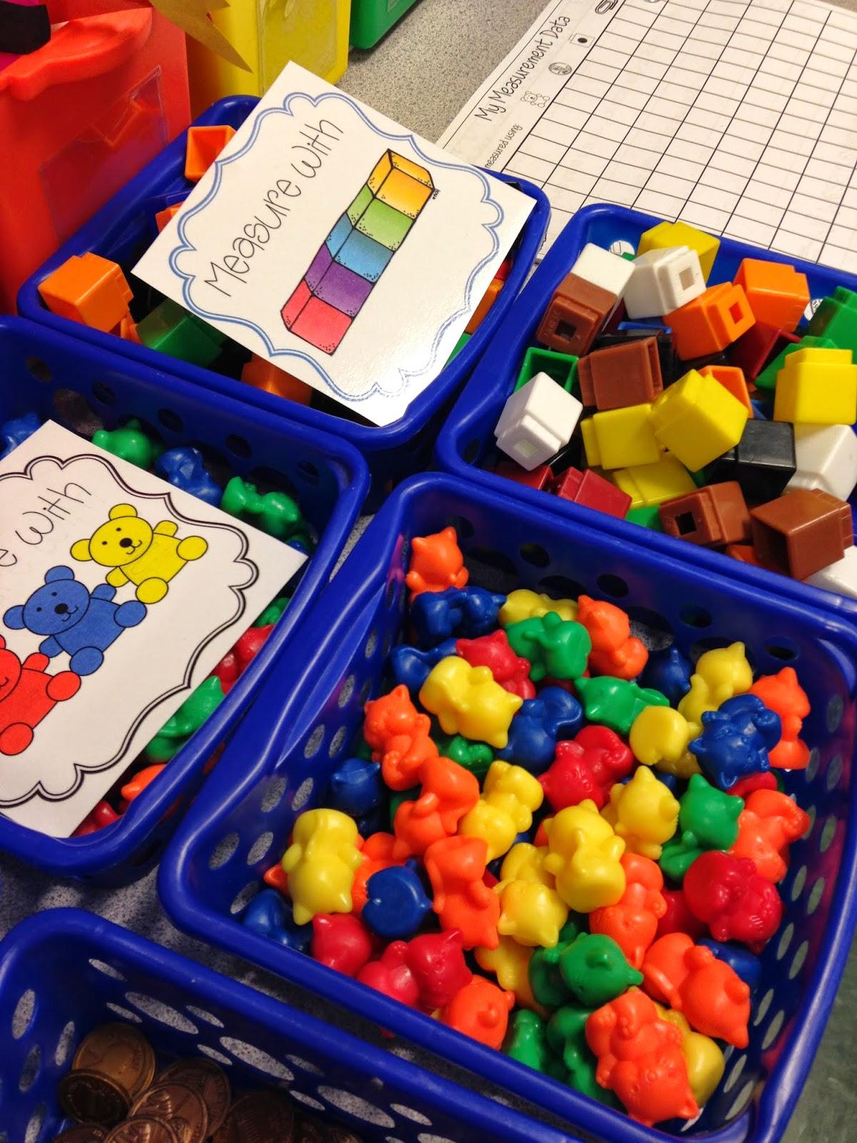 Mrs Wheeler S First Grade Tidbits Non Standard Measurement