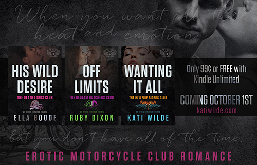The Motorcycle Clubs Series & Giveaway