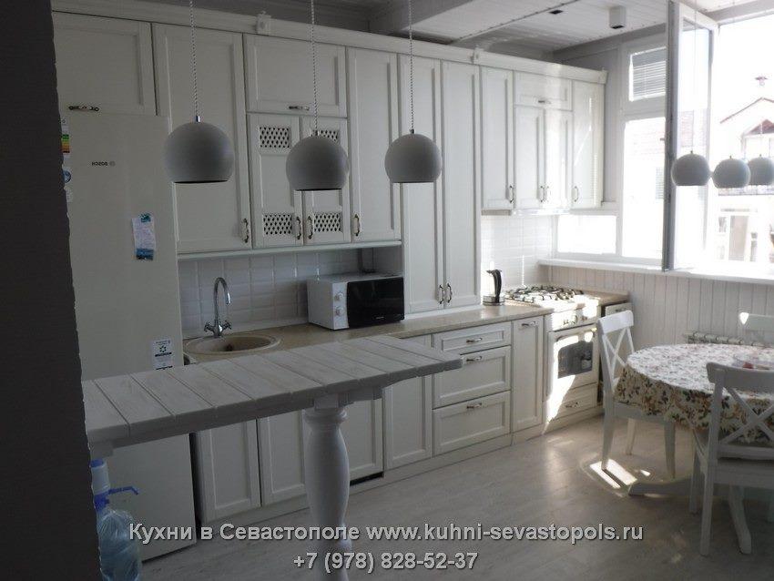 Кухни из массива на заказ Севастополь