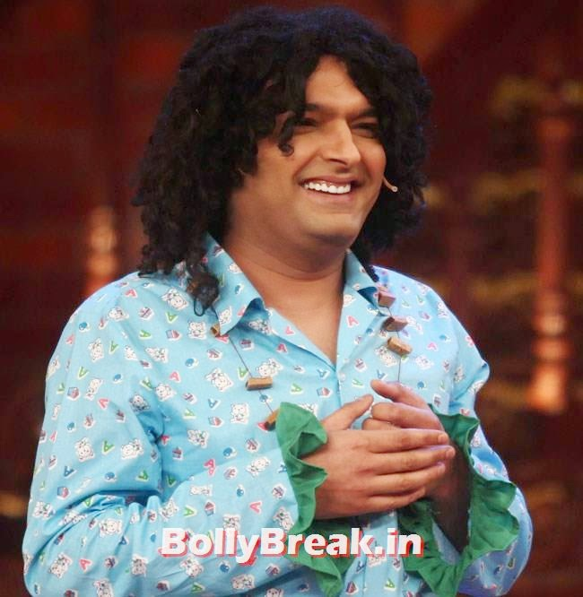 Kapil Sharma, Vidya Balan, Dia Mirza Pics from Comedy Nights With Kapil