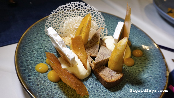 Anne Bistro - Bacolod restaurant - dessert - deconstructed turon
