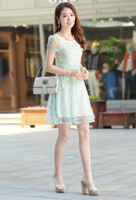Kumpulan Dress Terbaru Dan Termewah Model Baju Dress Brokat Pendek