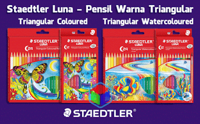 Pensil Warna Staedtler Triangular
