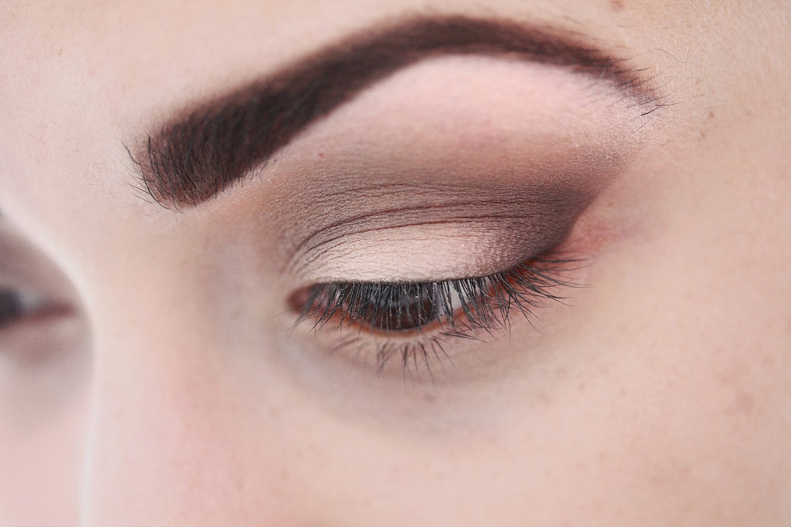 rose mademoiselle - too faced natural eyes tutorial makeup