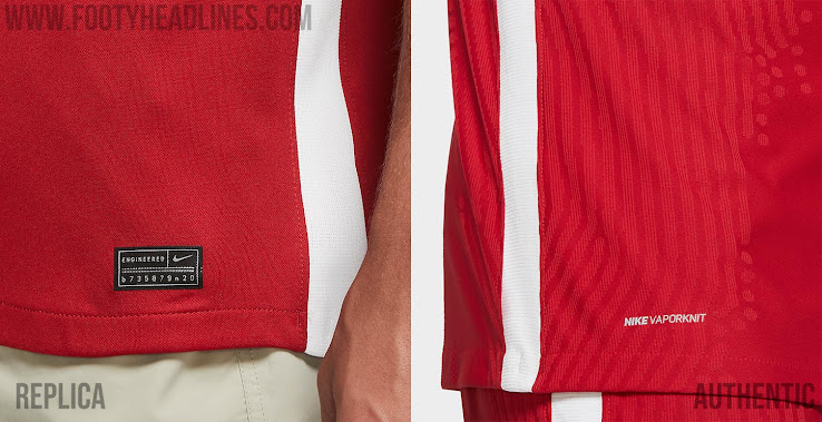 In Detail - Nike Liverpool 2020-21 100 GBP Home Authentic ...