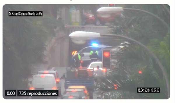 se reabre el subterráneo de Bravo Murillo por camión con mercancías peligrosas