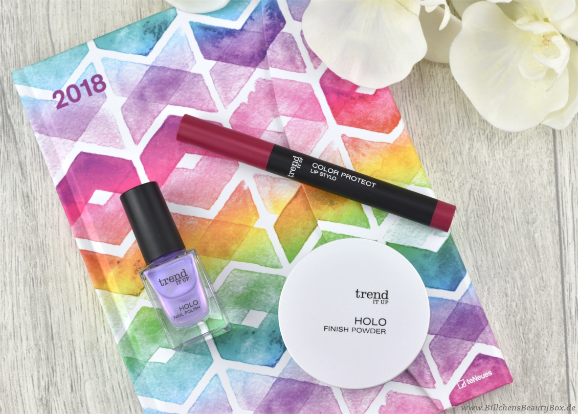 trend IT UP neues Sortiment Frühling und Sommer 2018 - Holo Finish Powder