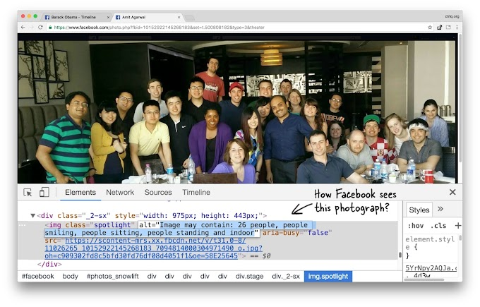 Facebook can see Everything in Your Photographs