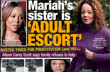 Rhymes With Snitch   Celebrity and Entertainment News   : Mariah Carey's  Sister