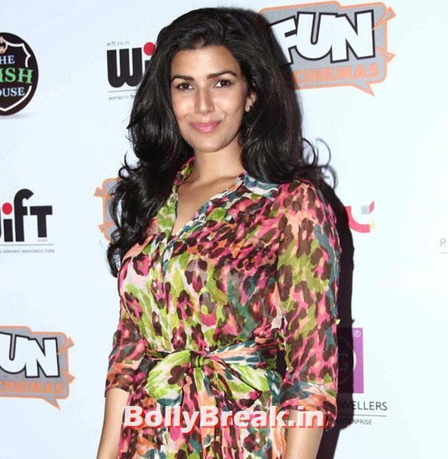 Nimrat Kaur, Nimrat Kaur, Shilpa Shukla at The World Before Her Movie Special Screening