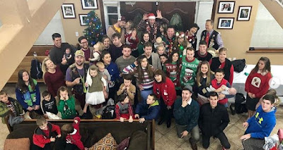 Duggar Ugly Sweater Christmas Party