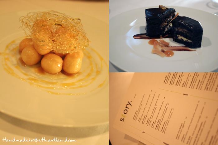 Story Restaurant Desserts