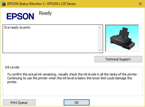Mengatasi Printer Error Epson L120 - Reset Waste Ink Pad Counter