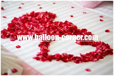 Dekorasi Kamar Pengantin Dengan Rose Petals