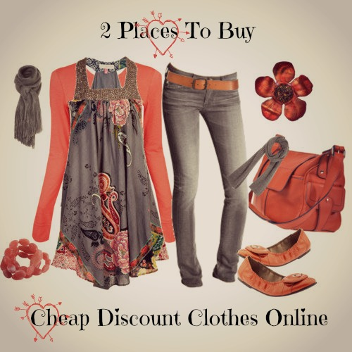 2 Places To Buy Cheap Discount Clothes Online