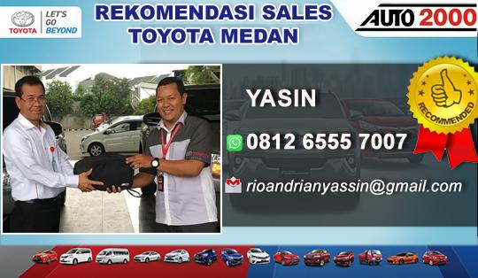 Rekomendasi Sales Toyota Medan