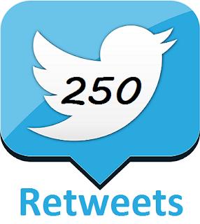 Buy 250 Twitter Retweets
