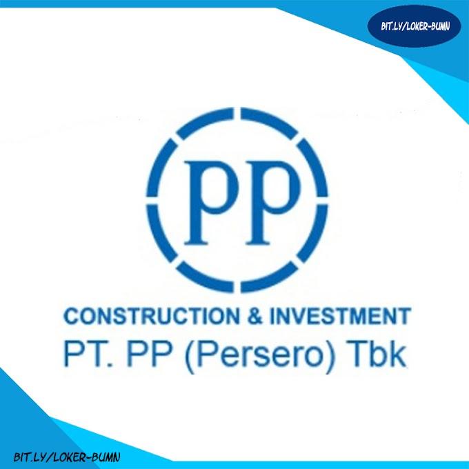 Rekrutmen Lowongan Kerja PT PP (Persero) Tbk