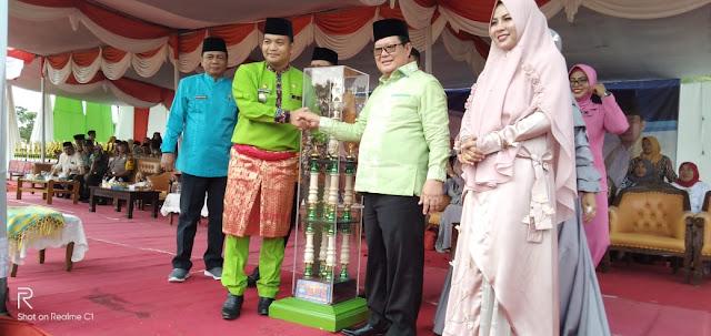 Bupati Muratara H Syarif Hidayat Tutup MTQ ke V Tingkat Kabupaten 2019