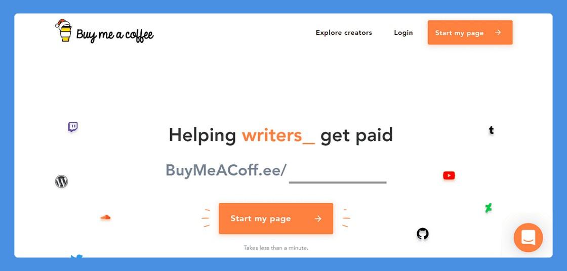 Buy Me A Coffee 建立PayPal小額贊助頁面