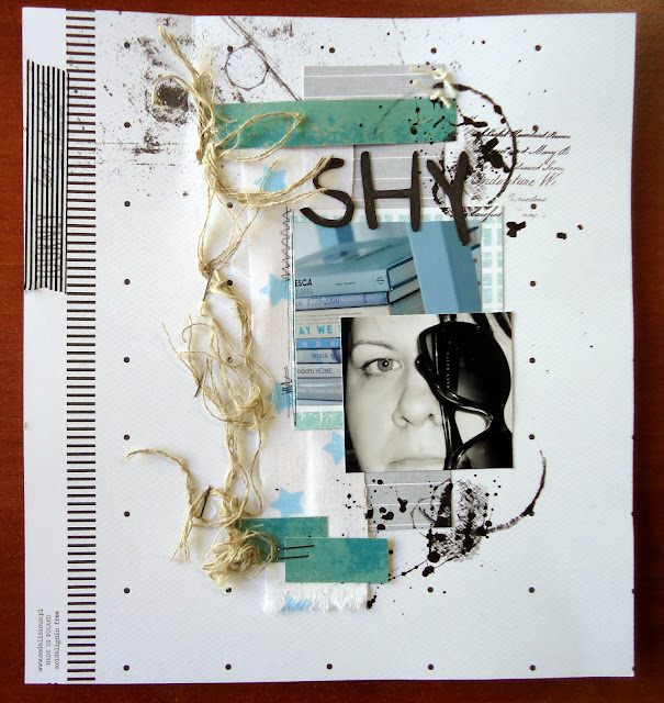 karta z albumu, scrapbooking