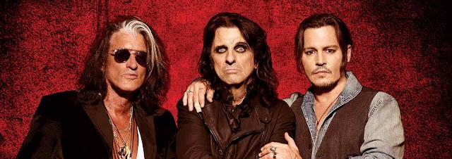 Alice Cooper cuenta cómo terminó banda Johnny Depp