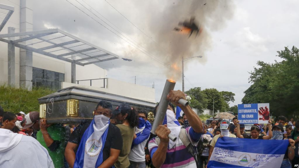 Represión de Daniel Ortega ya suma 350 muertos nicaragüenses / AP