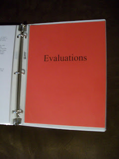 copies of my evaluation
