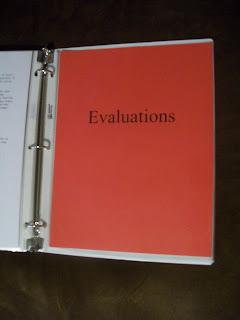 copies of my evaluation