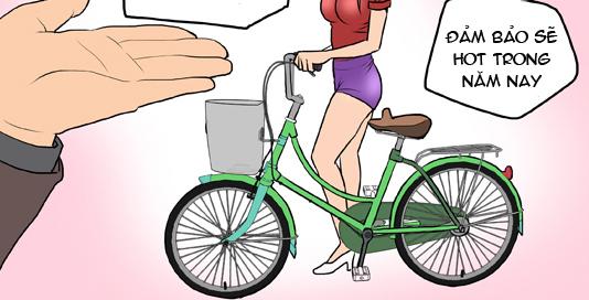 Bựa nương (bộ mới) phần 181: Xe đạp teen