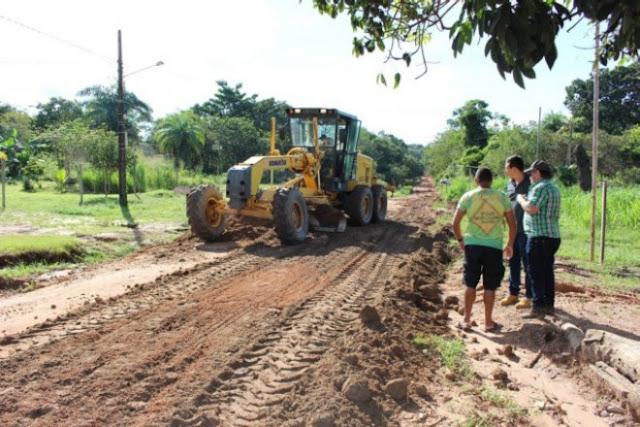 Prefeitura recupera mais de 200 quilômetros de ramais no interior