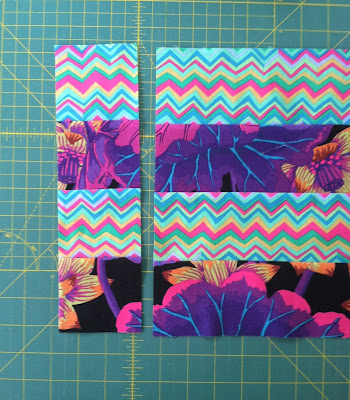 Kaffe Fassett, 16 Patch, Strip Piecing
