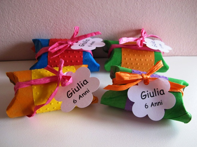 Conosciuto Angolino di Liana: Scatoline di compleanno con rotoli di carta BY74